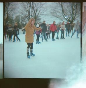 Unsteady skater